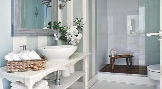 ¿Qué papel pintado quieres para tu baño?.